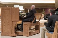 The new organ at St. Thomas More Church